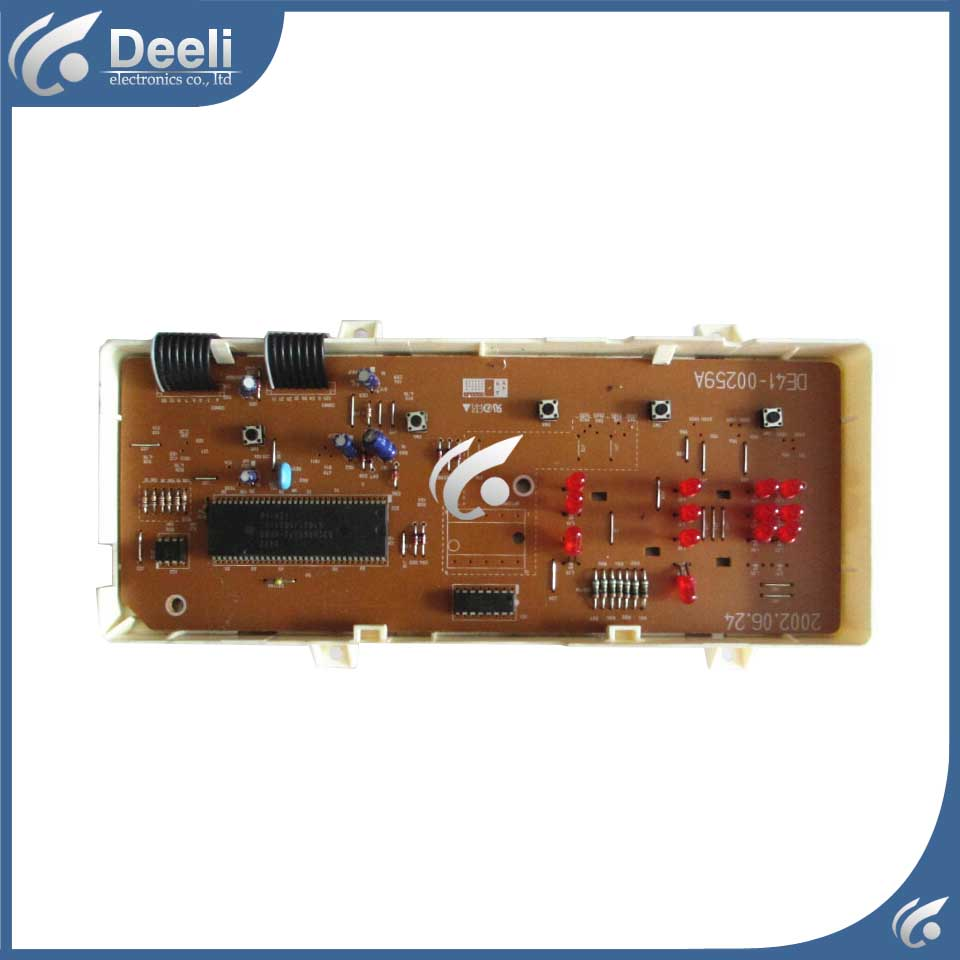 used board for washing machine parts MFS-S621-00 DE41-00259A PC board good working 1pc used s inverter board a5e00296878 zl02