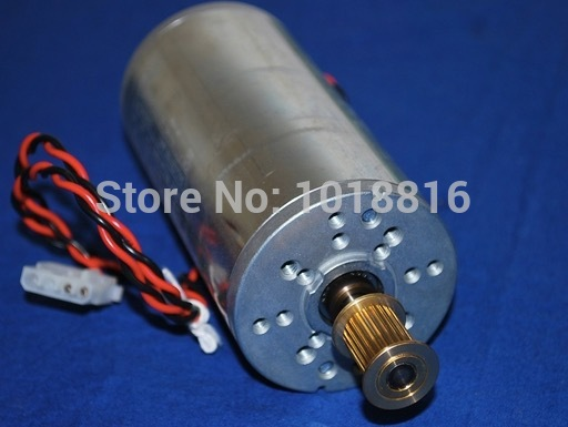 Free shipping Used-Q1273-60071 SCAN AXIS MOTOR DesignJet 4000 4020 4500 4520 Z6100 Carriage Motor C1273-60071 free shipping 50r1 pdp50r1 eax61300301 used disassemble
