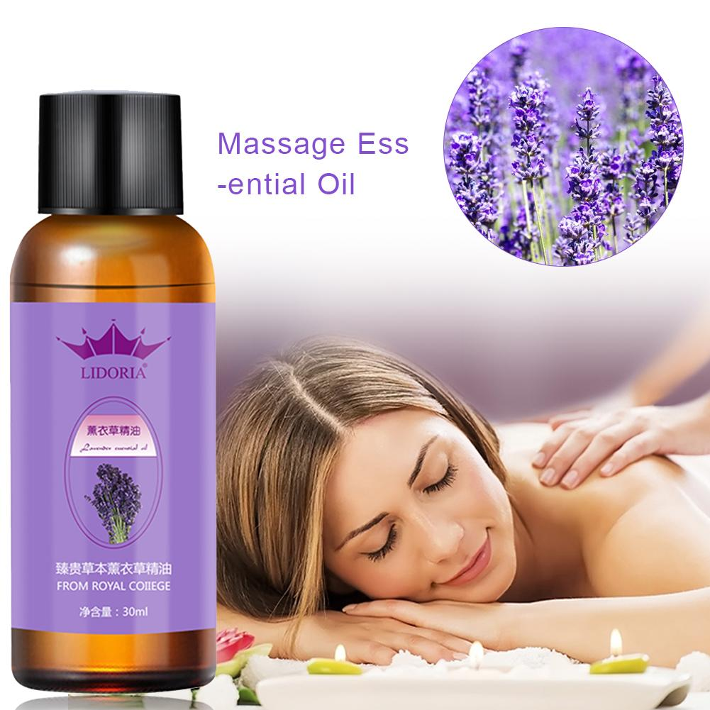 30ml Essential Oil Lavender Essential Oil Body Massage Fragrance Oil Relieve Stress Essential Oils For Aromatherapy Diffusers