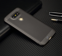 Luxury brand ultra thin New grid back cover case for LG G5 cases and covers for g5 SE original   accessories