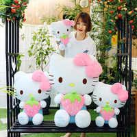 Hallo kitty Puppen Stofftiere Ausgestopften Plüsch Tiere katze obst erdbeere puppe puppe plüsch spielzeug Spielzeug für kinder mädchen geschenk