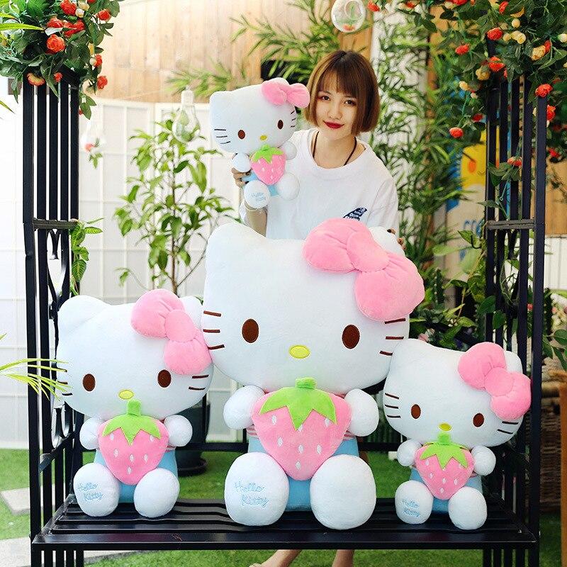Hello kitty Dolls Stuffed Toys Stuffed Plush Animals cat fruit strawberry doll doll plush toy Toys for children girl gift