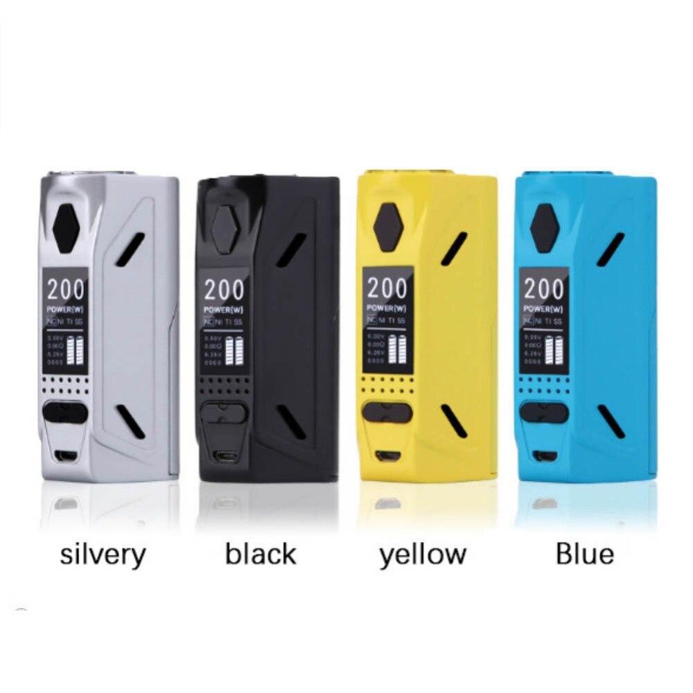 Magnétique Retour Cigarette Électronique Batterie Boîte Grand Brouillard Affichage Écran Vaporisateur Accessoires Remplaçable Boîte Mod