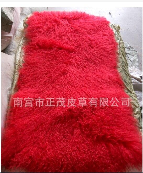 Ningxia vysoce kvalitní plážová ovce tlustá teplá vesta kabát pro kutily suroviny