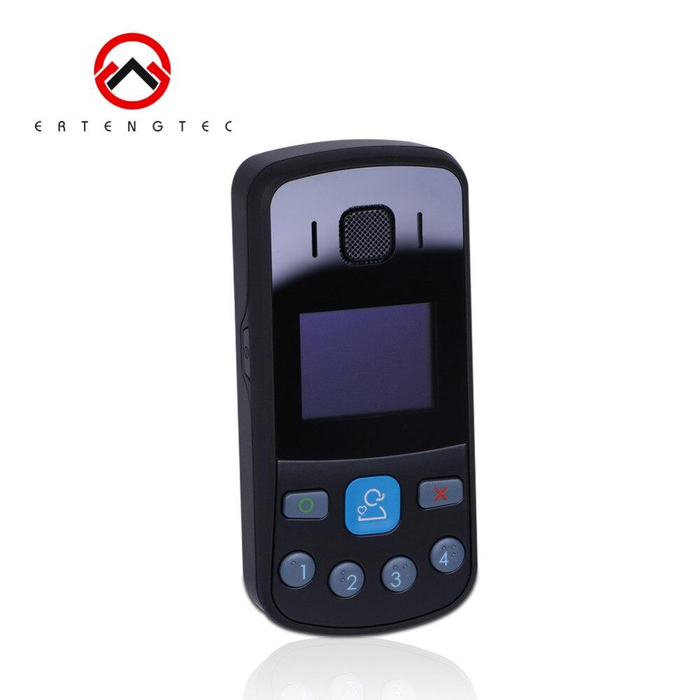 Персональный GPS трекер мобильного телефона gsm локатор устройства слежения queclink gt301 Quad Band 1.3 дюймов OLED SOS U Blox 1000 мАч осень оповещения