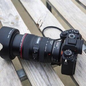 Image 5 - Viltrox EF NEX IV Auto Focus สำหรับเลนส์ Canon EF/EF S เลนส์ Sony A7RIII A7III A7II A6300 a6500 A9 กล้อง E   Mount