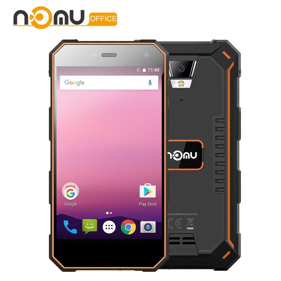 Nomu S10 Pro téléphone portable 5000 mAh charge rapide IP68 Étanche 3 GB + 32 GB 5.0