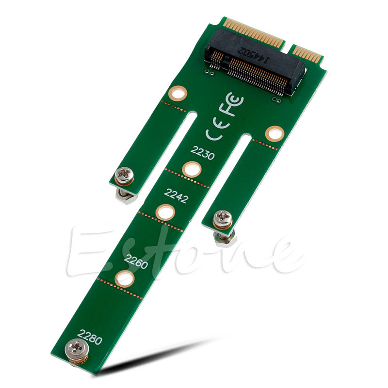 BGEKTOTH 6.0Gb/s Adapter Card  NGFF M.2 B SATA-Based SSD Key To MSATA Male