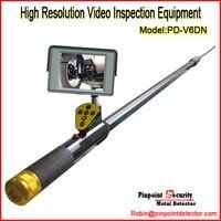 Бесплатная доставка (металлоискатель) Pinpoint PD V6D м 2 м водостойкий портативный под автомобиль/Грузовик Инспекционная камера с колесом (Dete