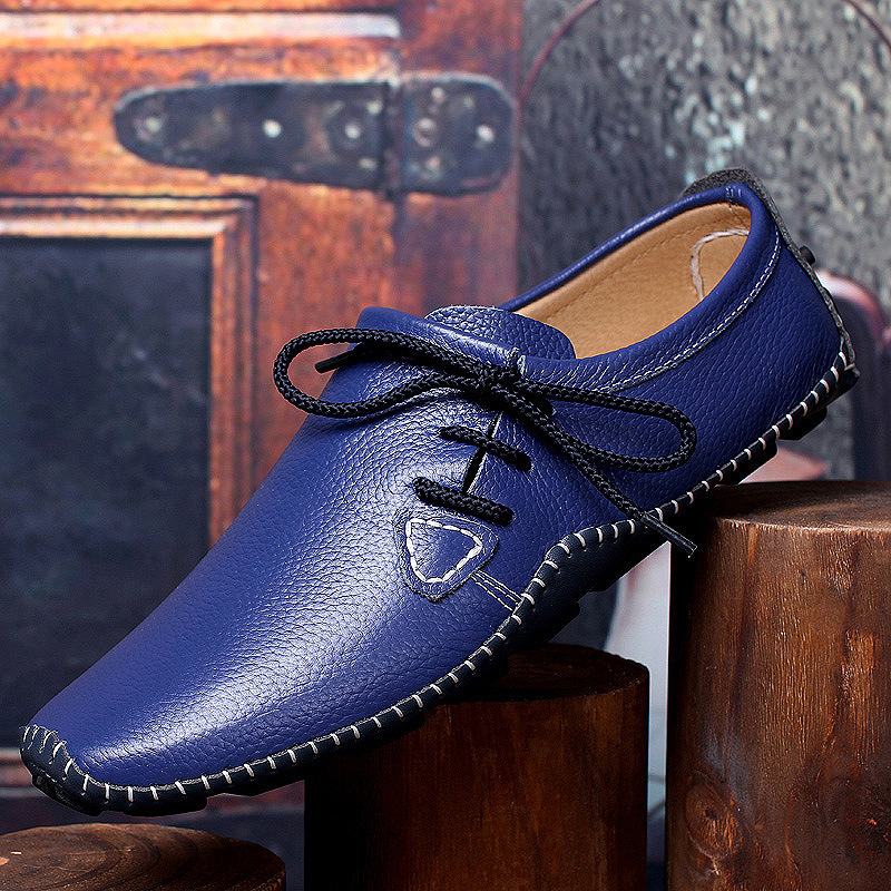 Men Genuine Leather Casual Shoes Low Top Boat Shoes Breathable Driving Shoes Summer Male Flats Loafers Zapatos Moccasin XK042602 2017 new fashion summer spring men driving shoes loafers real leather boat shoes breathable male casual flats