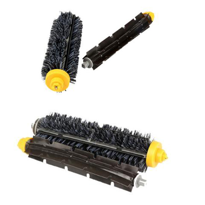 Replacement Beater /& Bristle Brush Set For iRobot Roomba 600//700 Series