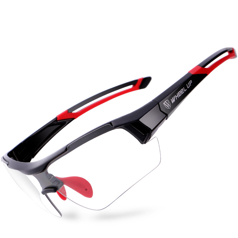 Wheel Up Photochromic Cycling Glasses Outdoor Sports Ciclismo Discoloration Sunglasses MTB Bike Eyewear Anti-UV Bicycle Goggles