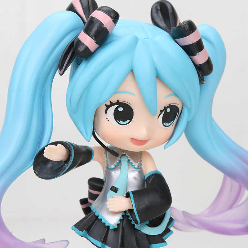 Hatsune Miku Figure Q Posket Lucu Hatsune Miku Ver. Anime Vocaloid Figure PVC Collectible Model Figurine