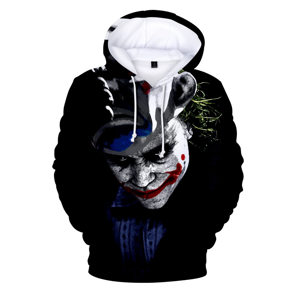 Men's Clothing Stephen Kings It Pennywise Clown Women/men Hoodies Sweatshirt Winter Fashion Street Hip Hop Fleece Hooded Jacket Funny Clothing Less Expensive