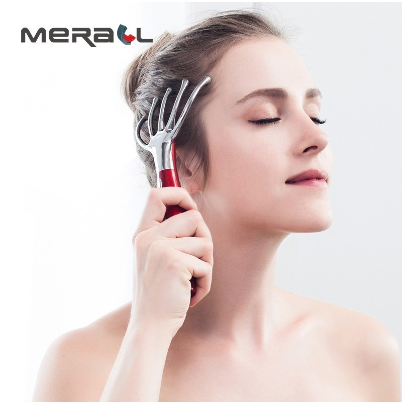 Electric Massager For Head Imitate The Human Hand Scalp Massager Machine Brain Relax Handheld Massage Comb Carrying Aspect