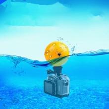 Buoyancy Ball Underwater Diving Anti-settling Ball for GOPRO Hero 7/6/5/4/3/3+/2/1 Xiaomi Yi 4k SJCAM portable mini floating ball underwater diving surfing swimming buoyancy ball float ball for gopro hero 7 6 5 4 3 sjcam xiaomi yi