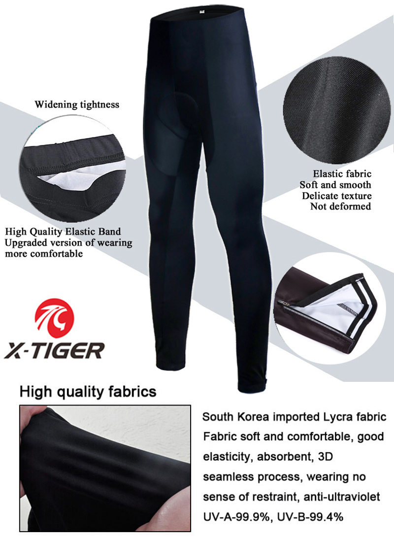 AJSJ Women Whole Black Pro 3D Padded Coolmax Gel Bicycle Cycling Trousers Maillot Cycling Pants Mountain Bike Tight