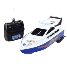 2.4G 4 CH RC Boats 5KM/H ABS Electric Mini Remote Control Speed Boat Toys Model for Kids Chirdren Birthday Gifts C101A