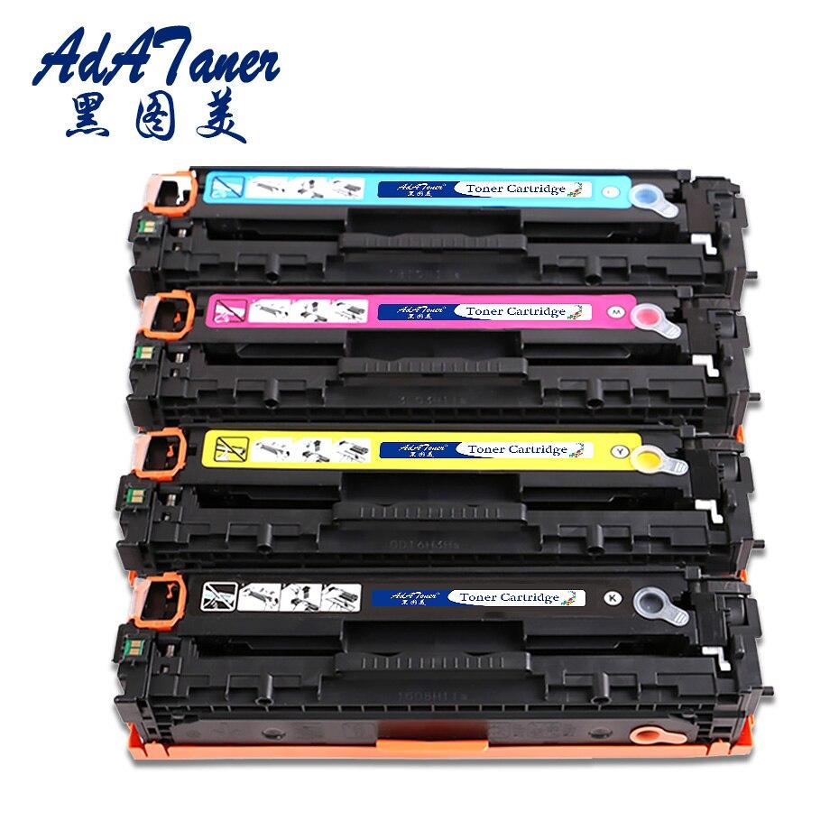 131A CF210X CF211A CF212A CF213A Compatible Toner Cartridge Replacement for HP Laserjet Pro 200 Color M251nw M276 M251N M276n hp 131a cf213a картридж для принтеров hp laserjet pro 200 m251 m276 magenta