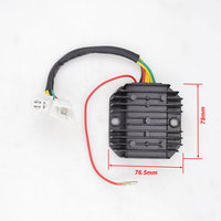 High Performance Motorcycle 7 Wires Voltage Regulator Rectifier For GY6 125 GY6 125 125cc Moped Scooter