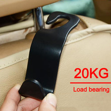 Car Seat Back Hooks Vehicle Headrest Hanger for Handbag Shopping Bag Coat Storage Hanger Car Accessories Hook Organizer(China)