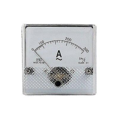 YS-80 класс 2,5 Точность переменного тока 0-300A Аналоговая Панель Амперметр