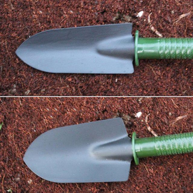 4Pcs Spade Fork Shovel Rake Harrow Awl Set 5