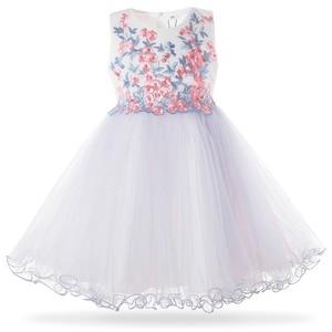 Image 1 - Cielarko 2019 חדש רשת פניני בנות נסיכת שמלת ילדי מסיבת חתונת שמלות ילדים פורמליות ערב כדור שמלות שמלת 3  10 שנה