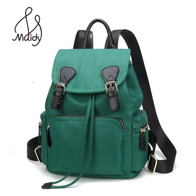 5a9bd4730f Madiy Small Ladies Girls Women Backpack Waterproof Oxford Cloth Leisure  School Bags Teenagers Travel Hangbags Back Pack Purse
