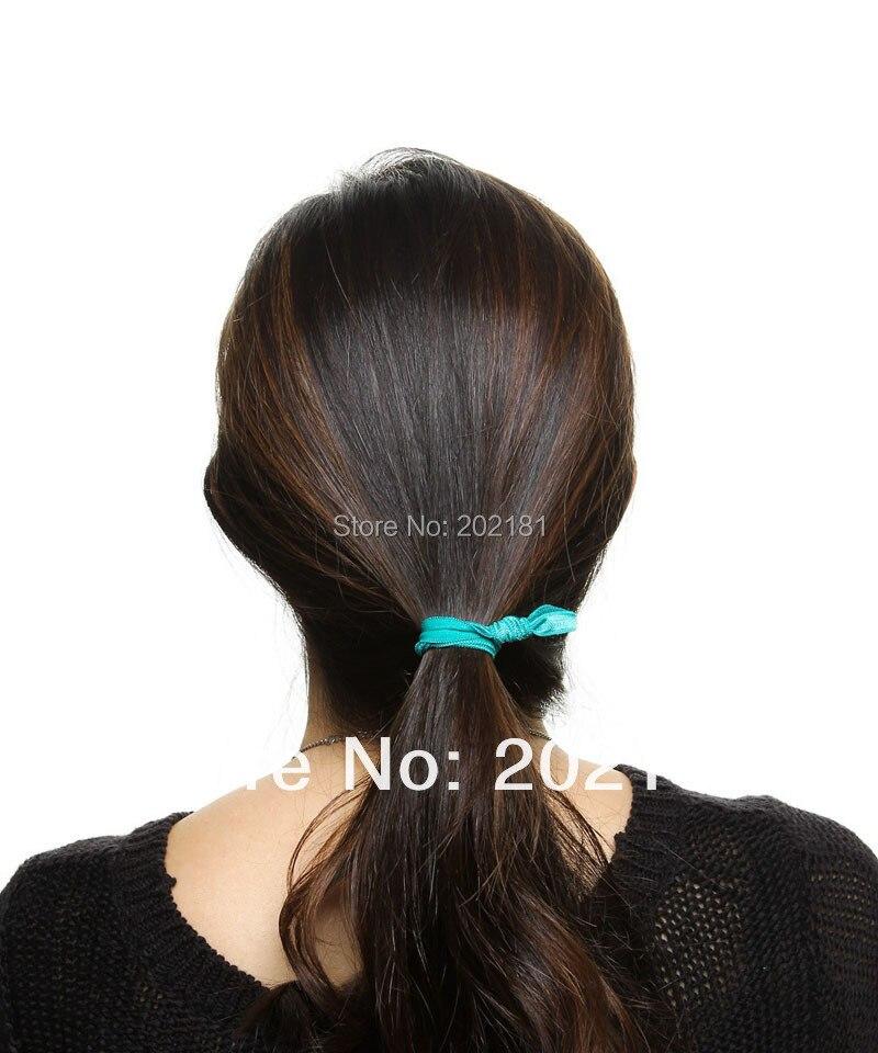 50color 200pcs lot Emi Jay Like Elastic Goody Ouchless Ribbon Elastics Hair  Bands Girls Women s Hair Accessories Yoga Hair Ties-in Women s Hair  Accessories ... ea38708fd7a