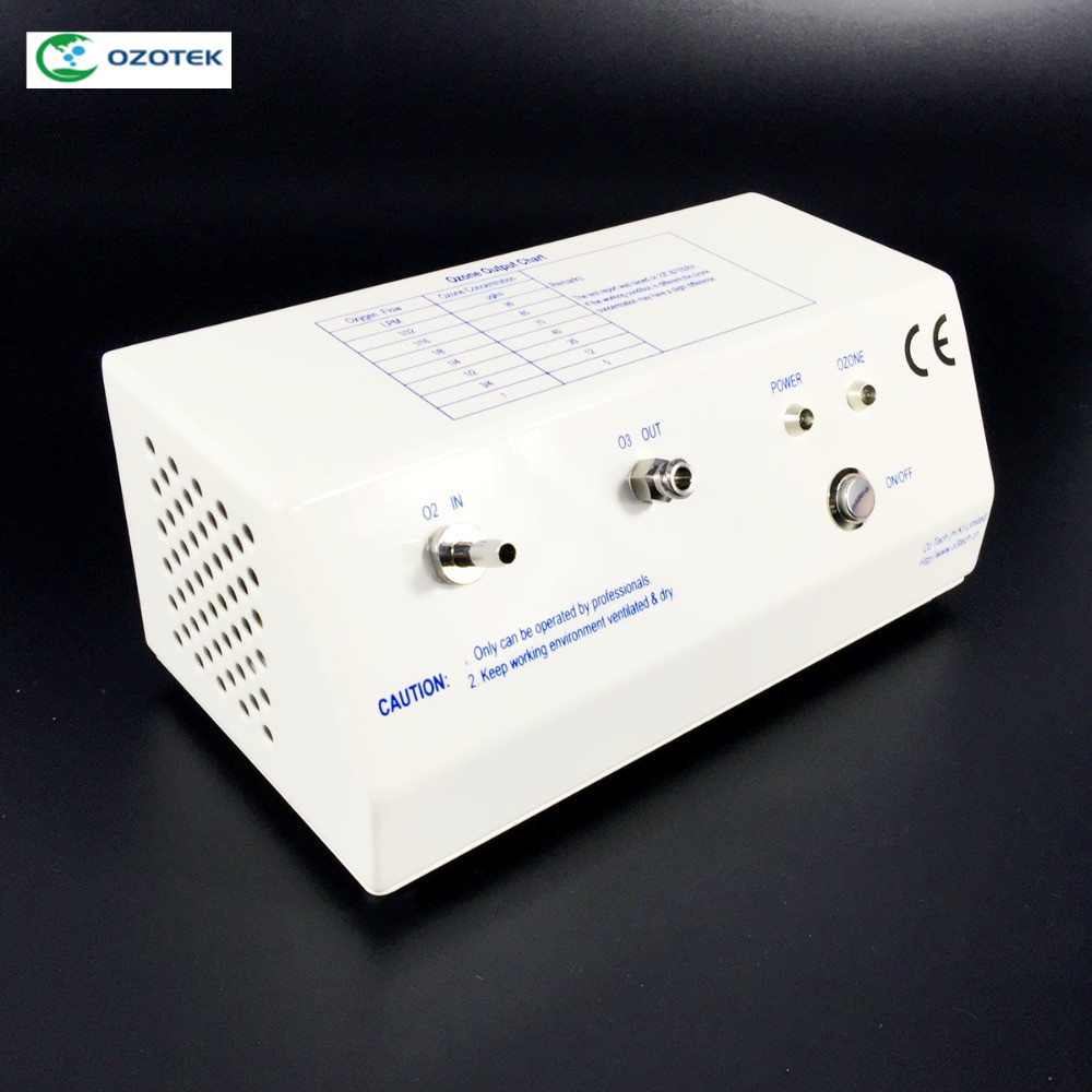 La thérapie d'ozone, générateur d'ozone médical, MOG003 12 v générateur D'ozone mini générateur d'ozone concentration 5-99ug/ml