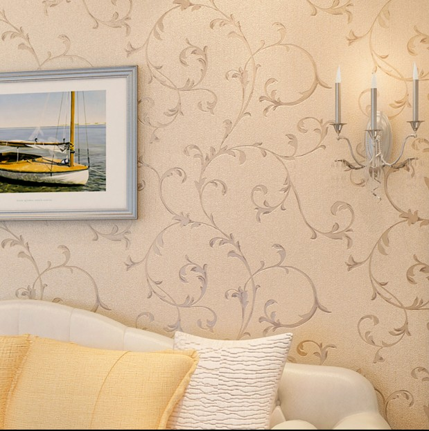 10m*53cm Chinese trumpet creeper bedroom full wallpaper The head of a bedroom sofa TV setting wall paper wall stickers a head full of dreams cd