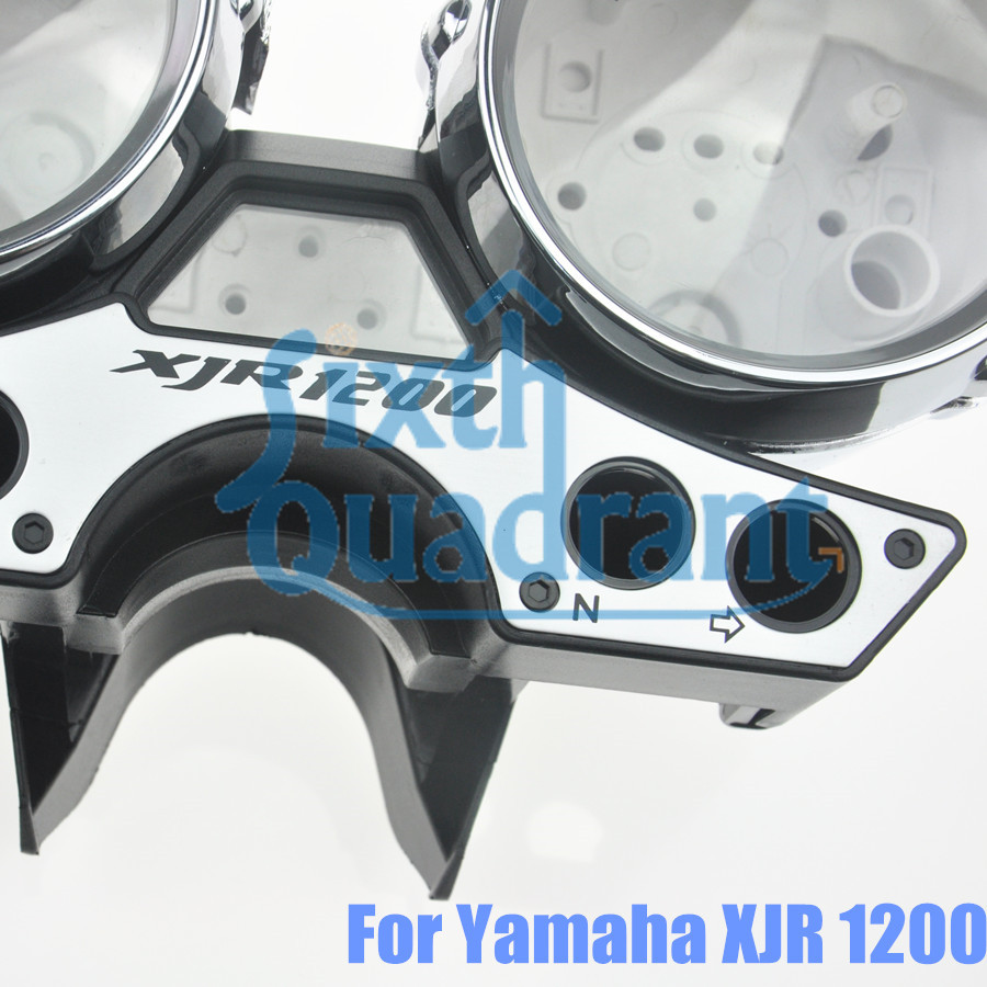 US $69 99 |Free Shipping Motorcycle Replacement Gauges Cluster Speedometer  Cover Instrument Case For Yamaha XJR1200 89 97 Custom-in Instruments from