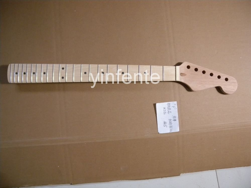 New High Quality Unfinished electric guitar neck Maple wood Body &  fingerboard  model 1pcs #3 new electric guitar neck maple wood fingerboard 25 5 inch left hand tele model 1pcs 2