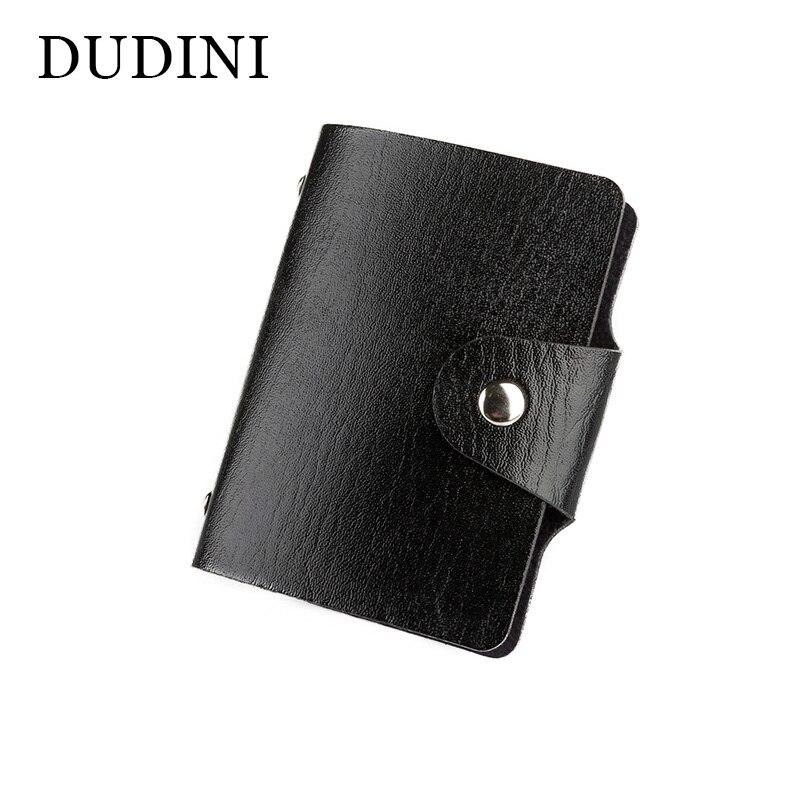 JUST SUPER 2016 New Men's Women Leather Credit Card Holder/Case Card Holder Wallet Business Card Package PU Leather Bag