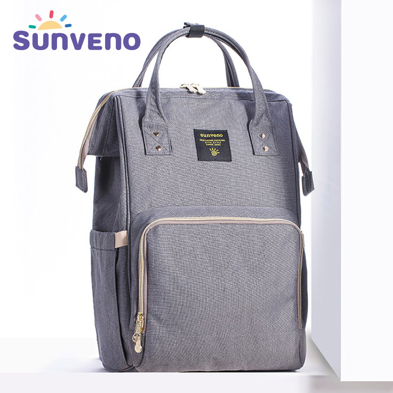 Sunveno Mummy Maternity Diaper Nappy Bag Organize Large Capacity Baby Bag Backpack Nursing Bag for Mother Kids Baby Care unicorn