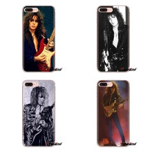Yngwie Malmsteen Sexy hombres guitarra TPU transparente cubierta para Samsung Galaxy S3 S4 S5 Mini S6 S7 borde S8 S9 s10 Plus nota 3 4 5 8 9(China)