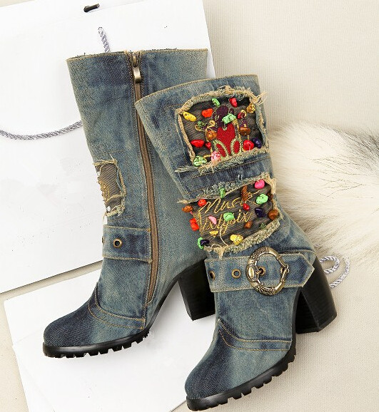 Online Get Cheap Cute Womens Cowboy Boots -Aliexpress.com ...