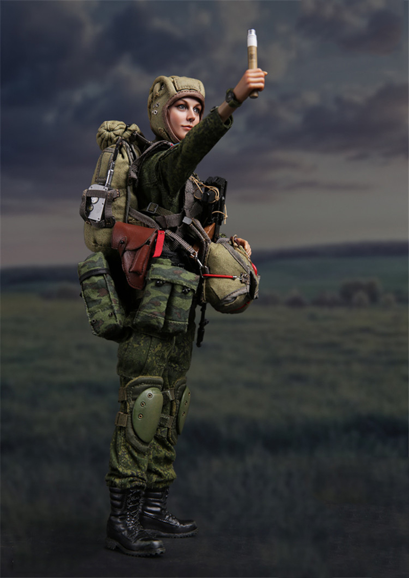 8 pcs Set of Soldiers Airborne Forces of Russia Figures. VDV
