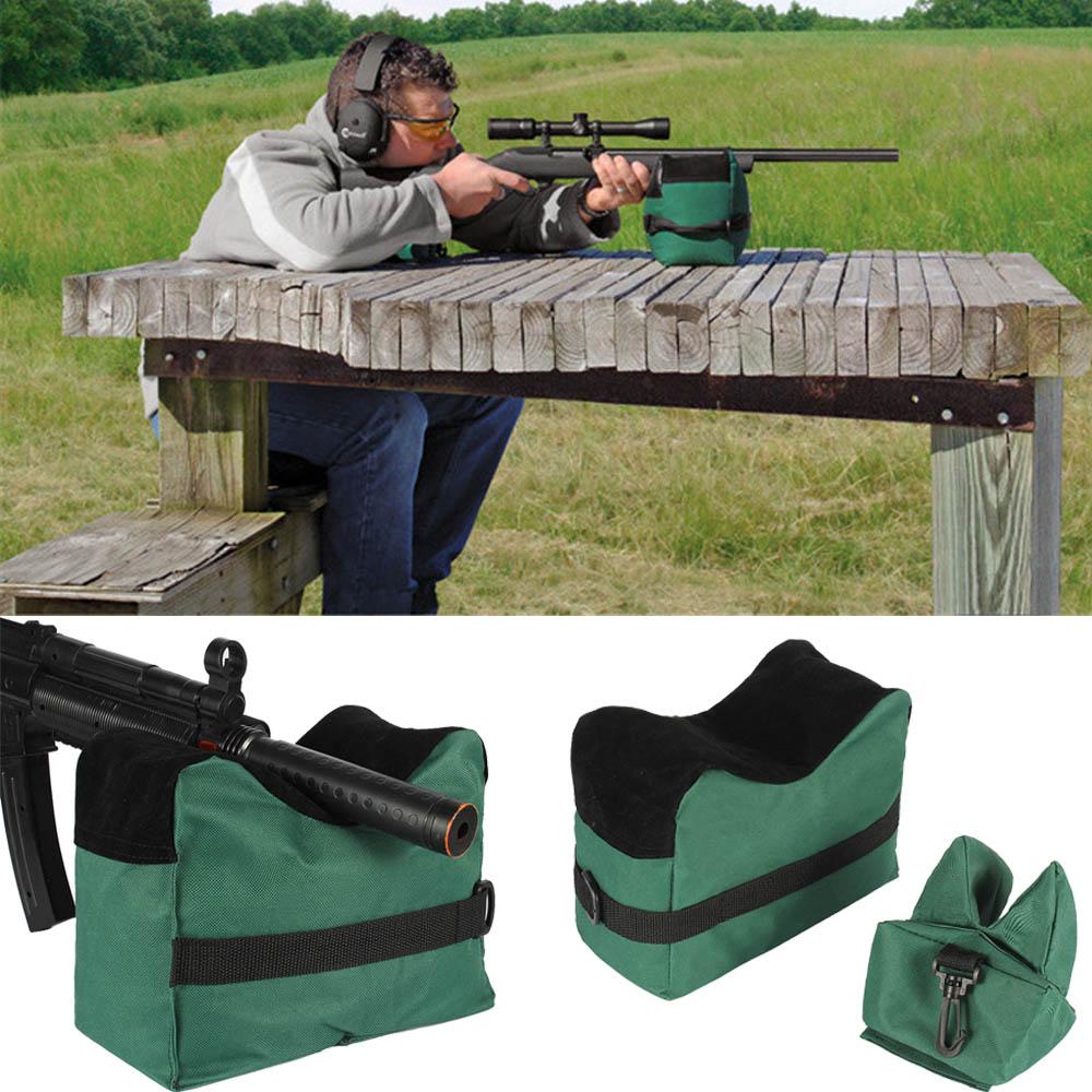 Rifle Sandbag Support Target Shooting Hunting Range Rear Rest Bench Sniper Gun