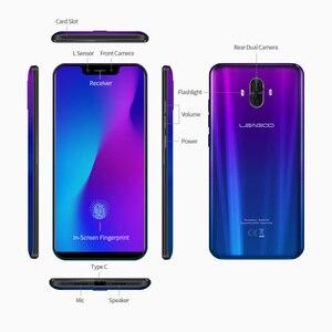 """Image 4 - Globale Versione LEAGOO S10 4G Smartphone 6GB di RAM 128GB di ROM 6.21 """"19:9 Schermo Intero In  display di Impronte Digitali 20MP Posteriore Dual Camme"""