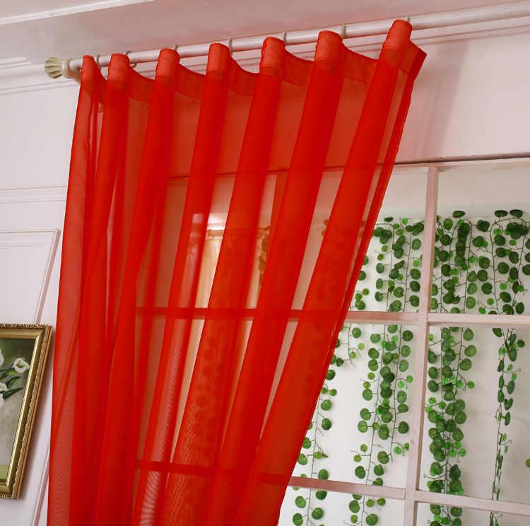 rideaux de jalousie de couleur rouge unie pour salon modernes pour fenetre de chambre a coucher stores de cuisine 092 c