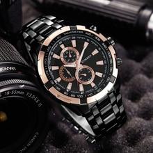 Fashion Curren Luxury Brand Man quartz full stainless steel Watch Casual Military Sport Men Dress Wristwatch Gentleman 2018 New