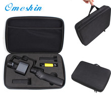 Hot 2017 Black EVA Storage Bag Case Cover Carry For DJI Osmo Mobile Gimbal & Accessories drop shipping 0425