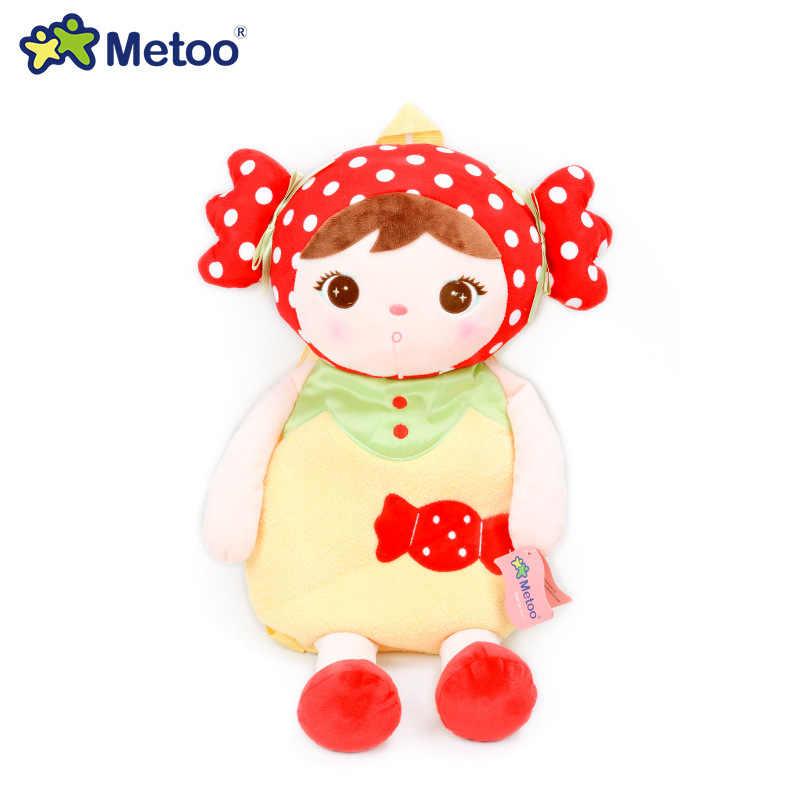 Мультфильм Школьные сумки Дети Кукла Плюшевая Игрушка сумка Детская сумка на плечо для детского сада Анжела кролик девочка рюкзак Metoo кукла