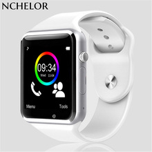 WristWatch Bluetooth Smart Watch Sport Pedometer with SIM Camera Smartwatch For Android Smartphone Russia A1