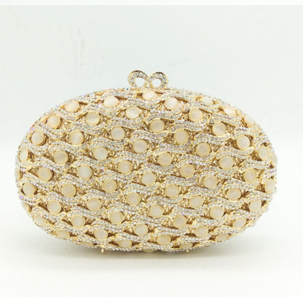 Luxury Crystal Evening Box Clutch Bag With Chain gold Women Evening Bag Diamond Wedding Bridal Party Purse Pochette purse gold woman evening bag women diamond rhinestone clutch crystal chain shoulder small purse gold wedding purse party evening bags page 3