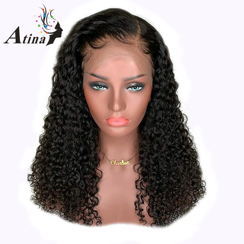 100 Human Hair 13x6 Lace Front Wigs Loose Curly Middle Part Natural Wig Pre Plucked Glueless