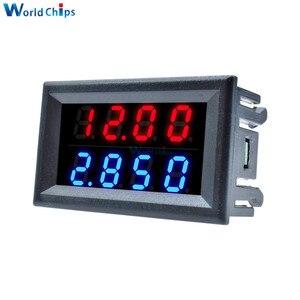 Image 4 - Kırmızı mavi çift dijital LED AMP ekran DC voltmetre ampermetre 4 Bit 5 teller DC 200V 10A voltaj Volt akım ölçer güç kaynağı