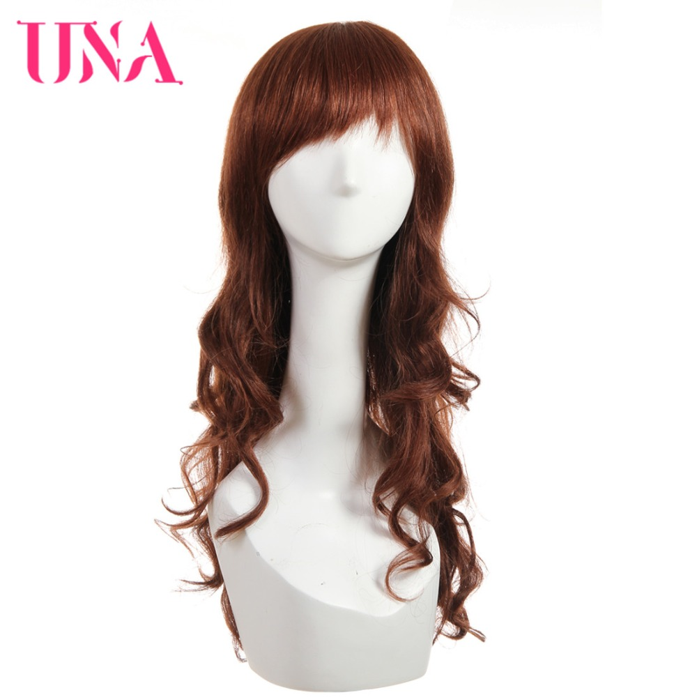 Brazilian Human Hair Lace Wig Loose Wave Non-Remy Hair 20
